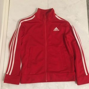 Adidas kids track top (Red)